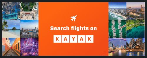 Search flights on KAYAK