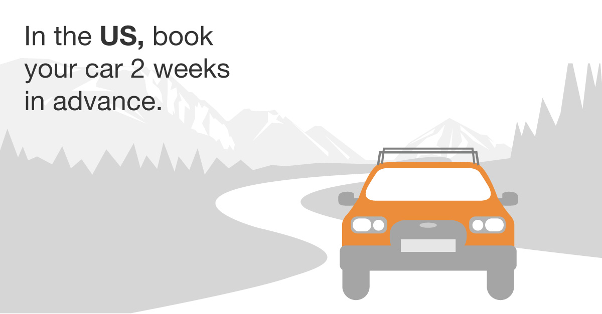 When To Book Your Rental Car For That Summer Road Trip Kayak