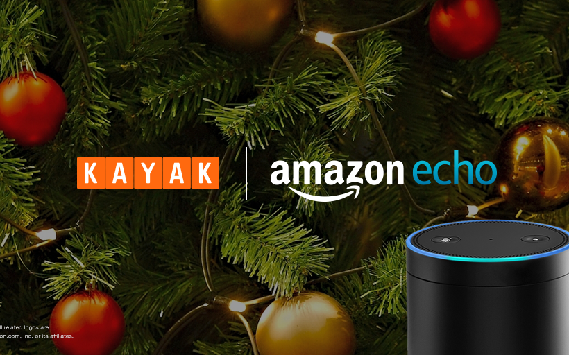 Track Santa with KAYAK and Amazon Alexa