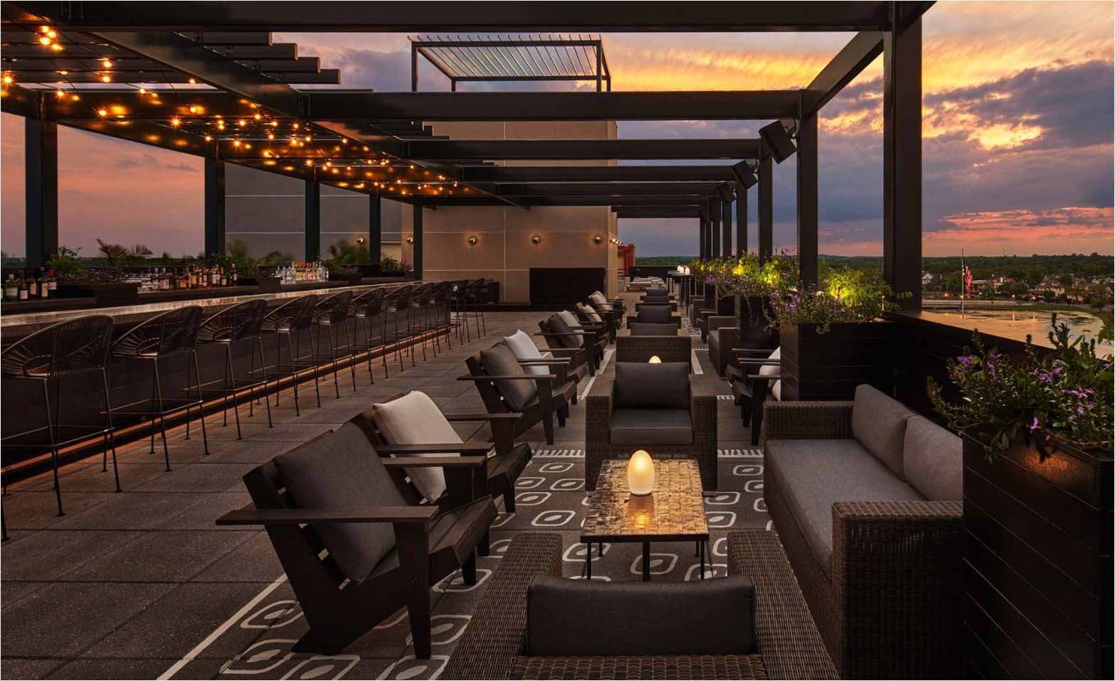 East Coast Hotels Rooftop Bars Perfect Summer