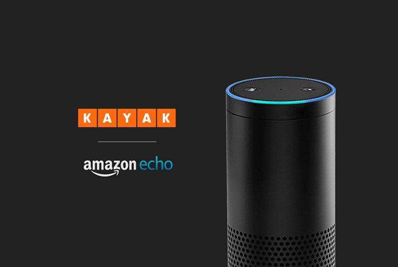KAYAK + Alexa Want You to Get a Room