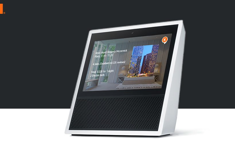 Book a Hotel Room with KAYAK on your Echo Show