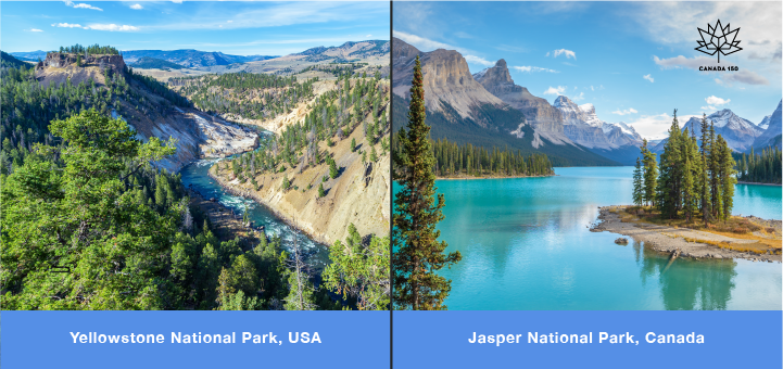 national parks us canada