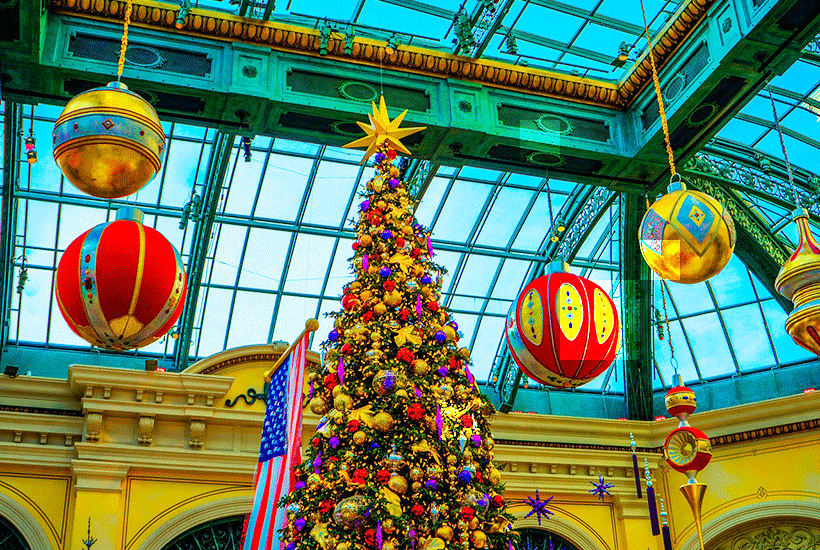 8 Reasons to Spend the Holidays in Vegas