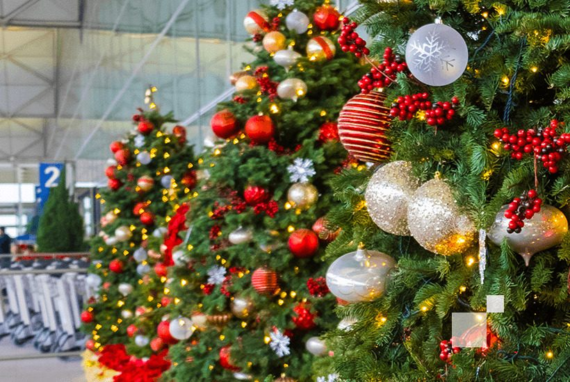 The busiest airports of the holiday season