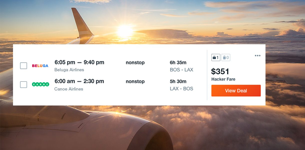 How to use Hacker Fares to Save Money -- KAYAK Travel Hacker