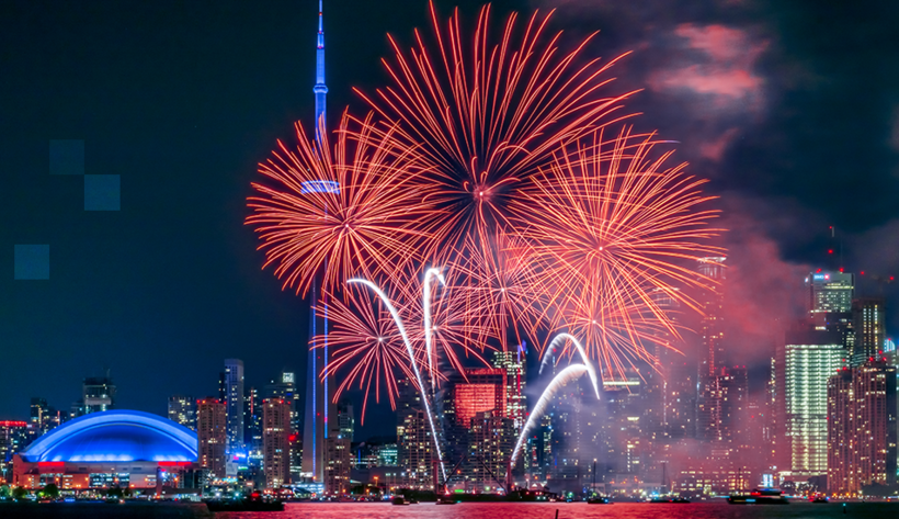 Cheapest destinations to travel to for Canada Day weekend