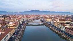 Find cheap flights from Dallas to Pisa