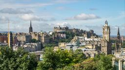 Find cheap flights from Palm Springs to Edinburgh