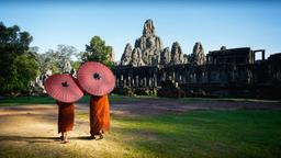 Find cheap flights from Kansas City to Siem Reap