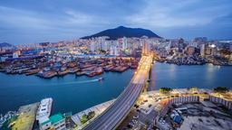 Find cheap flights from Osaka to Busan