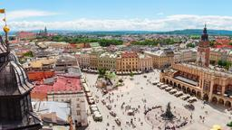 Find cheap flights from Santa Ana to Krakow