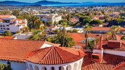Find cheap flights from District of Columbia to Santa Barbara