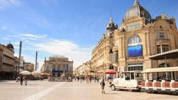 Find cheap flights from Grand Rapids to Montpellier