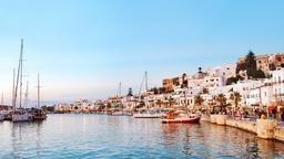 Find cheap flights from Tampa to Naxos