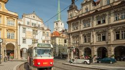 Find cheap flights from Akron to Prague