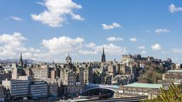 Find cheap flights from Vermont to Edinburgh