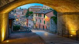 Perugia hotels near Via dell'Acquedotto