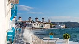 Find cheap flights from Texas to Mykonos