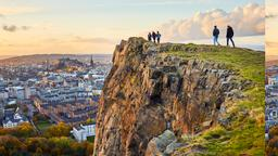 Find cheap flights from North Dakota to Edinburgh