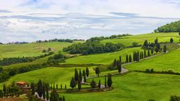 Find cheap flights from Birmingham to Tuscany