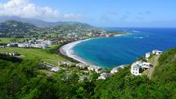 Find cheap flights from Memphis to St Kitts