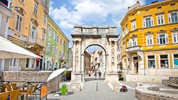 Find cheap flights from Ohio to Pula