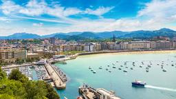 Find cheap flights from Fresno to San Sebastian