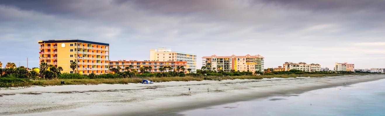 Cocoa Beach - Beach, Historic