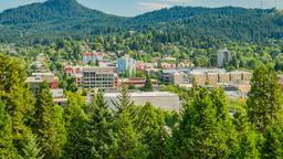 Find cheap flights from Plattsburgh to Eugene