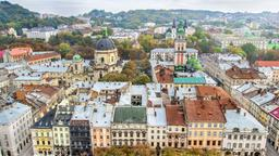 Find cheap flights from Manchester to Lviv