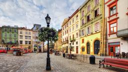 Find cheap flights from Austin to Lviv