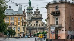 Find cheap flights from Des Moines to Lviv