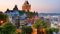 Find cheap flights from Maine to Québec City