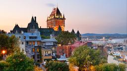 Find cheap flights from Indianapolis to Québec City