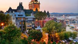 Find cheap flights from Louisiana to Québec City