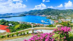 Find cheap flights from New Hampshire to the U.S. Virgin Islands