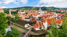 Find cheap flights from Islip to the Czech Republic