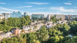Find cheap flights from Des Moines to Luxembourg