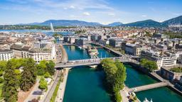 Find cheap flights from Monterey to Geneva