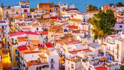 Find cheap flights from South Carolina to Ibiza