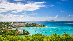 Find cheap flights from New Mexico to the U.S. Virgin Islands