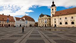 Find cheap flights from California to Sibiu
