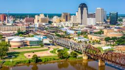 Find cheap flights from North America to Shreveport