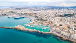 Find cheap flights from South Carolina to Heraklion