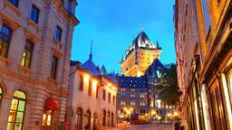 Find cheap flights from Massachusetts to Québec City