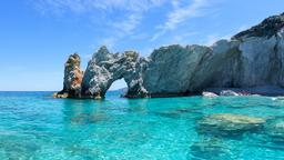 Find cheap flights from Santa Ana to Greek Islands