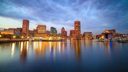 Find cheap flights from Houston to Baltimore
