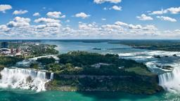 Find cheap flights from Detroit to Niagara Falls