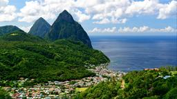 Find cheap flights from Yosemite National Park to Saint Lucia